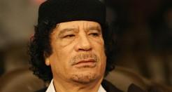 Gaddafi slutet
